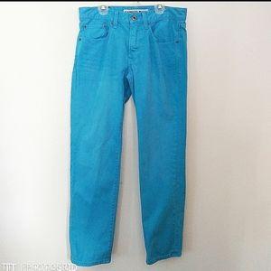 Express blue Rocco Slim fit skinny leg jeans